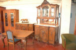 Late 19th c. beginning of the 20th c. dining-room suite