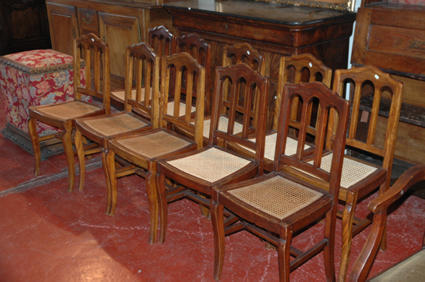 19th c. chairs