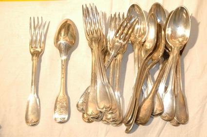 Claude LACROIX forks and spoons