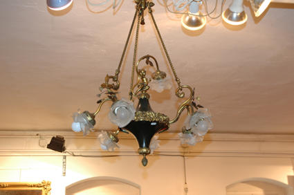 Late 19th c. chandelier