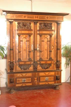 Armoire 7 colonnes - Serrure armoire ancienne ...