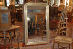 19th c. mantelpiece mirror