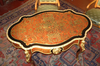 Table BOULLE Napoléon III