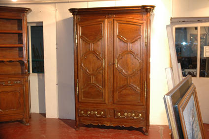 Beginning of the 19th c. armoire from Lorraine