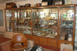 Big wall display cabinet