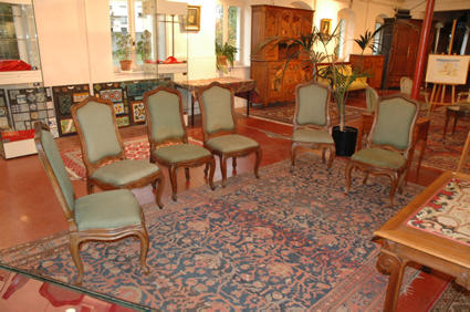 Louis XV chairs