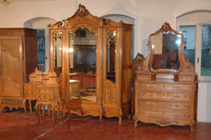 Louis xv style bedroom furniture - Mobilier style louis xv ...