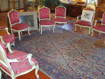 Napoleon III armchairs and chairs