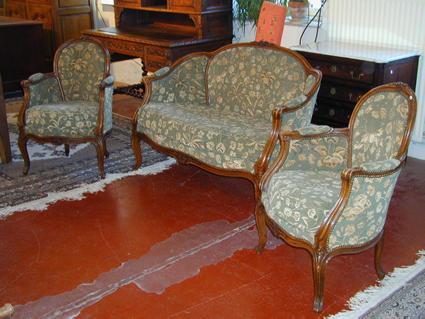 Louis XV-style suite