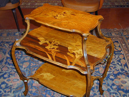 Emile Galle Tea Table