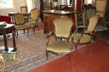 fauteuils et chaise napol on iii. Black Bedroom Furniture Sets. Home Design Ideas