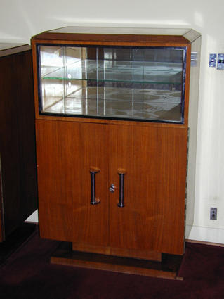 1930 display cabinet