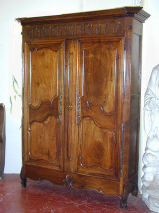 Beginning of the 19th century Louis XV armoire