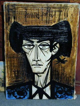 Bernard buffet for Bernard buffet vente