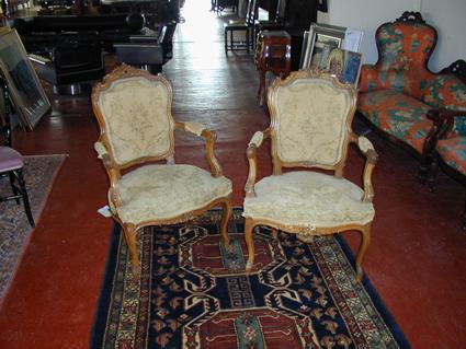 Salon de style Louis XV