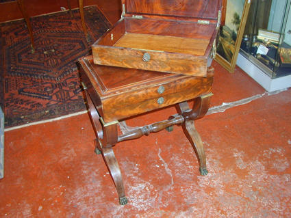19th century work table