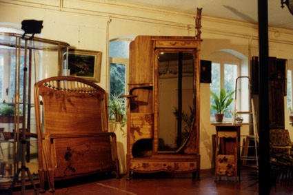 Bedroom furniture by MAJORELLE